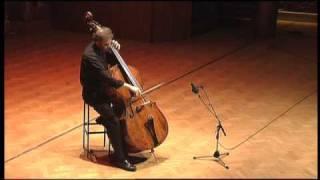 Bach Cello Suite No.3 Movement 1