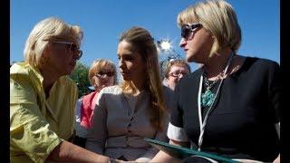 Кужель накинулась на Ірину Луценко: Порошенка не було, коли ми визволяли вашого чоловіка!