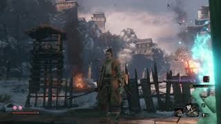 "Sekiro: Shadows Die Twice -  Ashina Castle Gate: Rot Essence Wartorn Mob: ""Wheezing"" Sequence (2019)"