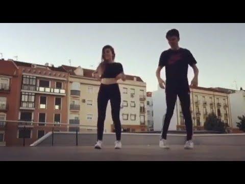 Медуза MATRANG Клип  Красивый танец ногами Парень с девушкой Два парня