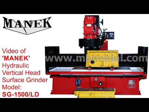 Manek - Hydraulic Surface Grinder Model: SG-1500/LD
