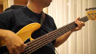 Billy Joel - Uptown Girl (Bass Cover) with TAB