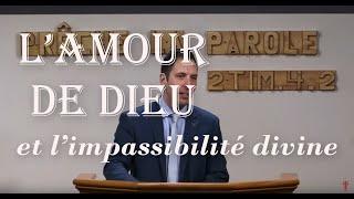 L'AMOUR DE DIEU ET L'IMPASSIBILITÉ DIVINE