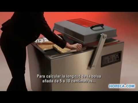 Video Henkelman envasadora al vacío de doble campana Falcon 2 60
