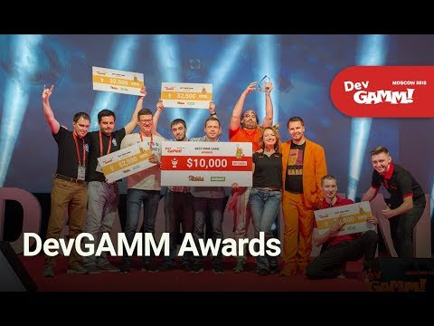 DevGAMM Awards (Moscow 2018 Edition)