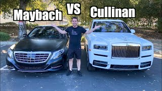 Rolls Royce Cullinan DRAG RACES Mercedes Maybach! *Shocking Results* by Vehicle Virgins