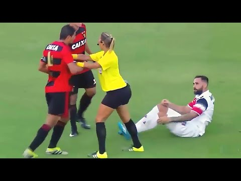 PLAYERS VS REFEREES: FUNNIEST SPORTS MOMENTS!