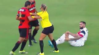 deportes  jugadores vs árbitros