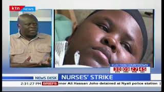Newsdesk Discussion: Ongoing nurses' strike - The way forward