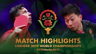 Ma Long vs Vladimir Samsonov | 2019 World Championships Highlights (R32)