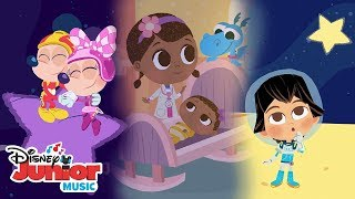 Disney Junior Lullabies! 🌜 😴 | 🎼 Disney Junior Music Nursery Rhymes | Disney Junior