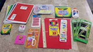 2019 School Supply Giveaway!