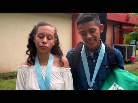 Karoline Lizondro y Edwar Mendoza Finalistas Mejor Canción Zona Centro 2018