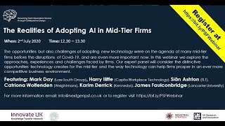 The Realities of Adopting AI in Mid-Tier Firms