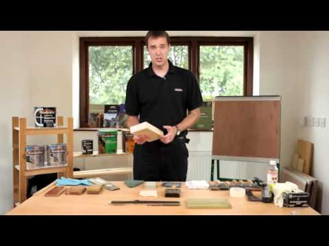 Video How to prepare bare wood for paint or varnish
