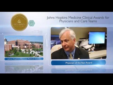 2016 Physician of the Year – Rafael Llinas, M.D., Johns Hopkins Bayview Medical Center