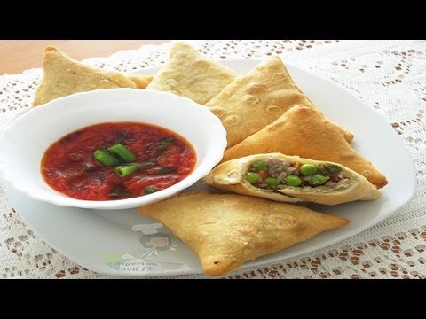 Samosa (with meat&vegetables filling) | Nigerian Food TV