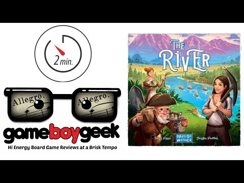 The River (Allegro 2-min) Review with the Game Boy Geek