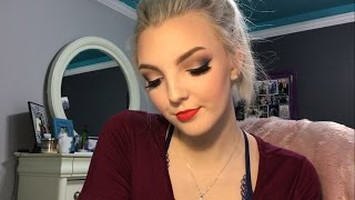 Dance Competition Stage Makeup Full Face Tutorial