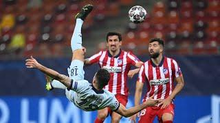 Atletico Madrid 0-1 Chelsea: Olivier Giroud score incredible bicycle kick as blues earn crucial win