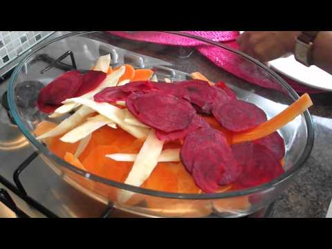 How to make Vegetable Crisps! A Quick and Easy Recipe