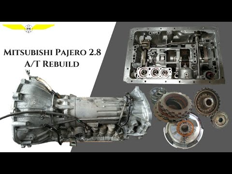 Mitsubishi Pajero 2.8 Automatic Transmission Rebuild (Part 2)