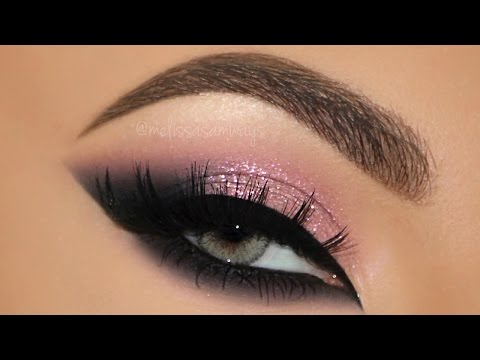 ♡ Pink Glam Cat Smokey Eyes Makeup Tutorial | Melissa Samways ♡