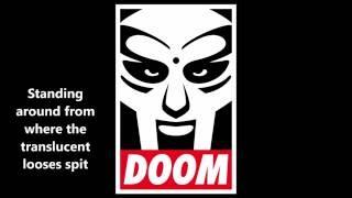 MF DOOM - Cellz (Lyrics Video Intro + Song)