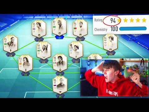 194 RATED!! - FIFA 19 FULL ICON 194 FUT DRAFT CHALLENGE