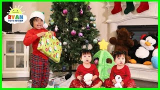 Jingle Bells Kids Christmas Songs with Ryan ToysReview