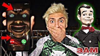 DO PLAY WITH SLAPPY FROM GOOSEBUMPS AT 3AM!! *OMG SLAPPY ACTUALLY CALLED ME AND I ANSWERED*