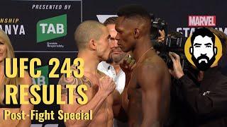 UFC 243 Results: Robert Whittaker vs. Israel Adesanya | Post-Fight Special | Luke Thomas