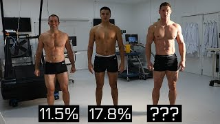 TESTING BODY FAT % | Real Body Fat Percentage Examples