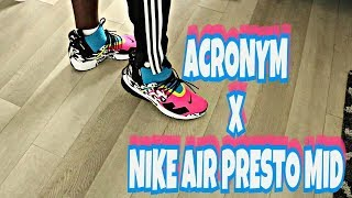 wholesale dealer 5797e 49c28 NIKE PRESTO x ACRONYM REVIEW + ON FEET!