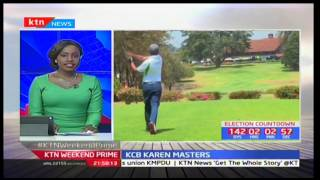 Reine Saxton takes an overnight lead at KCB Karen masters