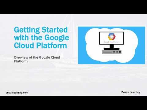 Overview of the Google Cloud Platform