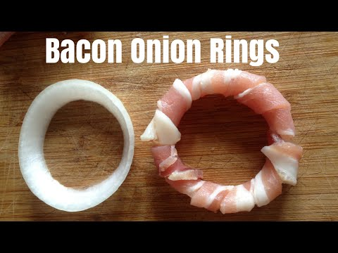 How To Make Bacon Onion Rings