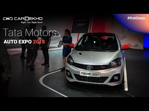 Tata Motors at Auto Expo 2018 | #First2Expo | Tigor JTP, Tiago JTP, H5X