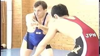 Техника борьбы Сергея Белоглазова (Япония, 1998)