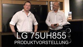 LG 75UH855 UHD TV 4K - Produktvorstellung - Thomas Electronic Online Shop - UH855