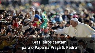 Papa: N. Senhora Aparecida, sinal que impulsiona a unidade na solidariedade e justiça