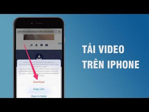 Tải mọi video về iPhone với trình duyệt bá đạo này