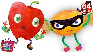 Fruit Song (2D) | +More Nursery Rhymes & Kids Songs - Cocomelon (ABCkidTV)