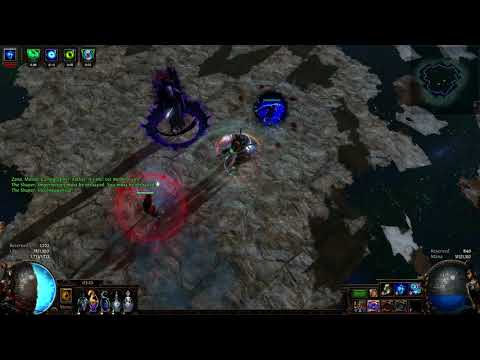 Path of Exile – Super Bear Trap – Instant Shaper Kill