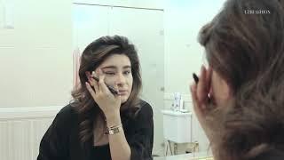 Ганя Усман показала, как делает вечерний макияж.