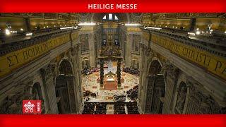 Papst Franziskus-Heilige Messe zum Welttag der Armen 2020-11-15