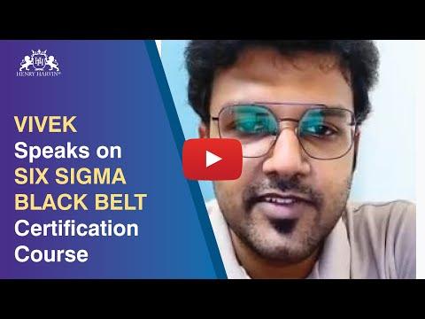 Six Sigma Black Belt Certification Review By Vivek | Henry Harvin ...