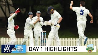 Conway grabs three amid Sydney showers to rock Vics | Marsh Sheffield Shield 2020-21