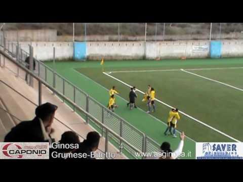 Preview video GINOSA-GRUMESE/BITETTO 5-2 Un grande Ginosa rimonta e stravince con la Grumese