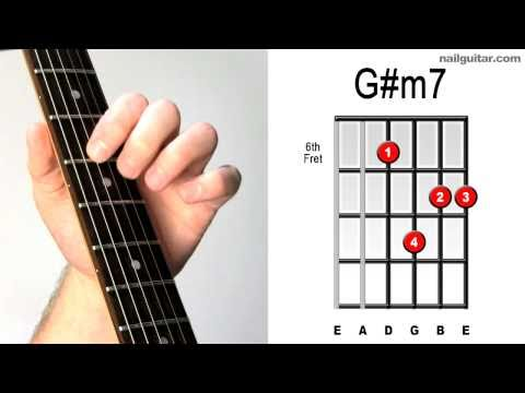 G# Minor 7th ♫♬ Must Learn Electric Guitar Chords!